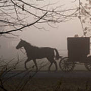 Amish Morning 1 Poster