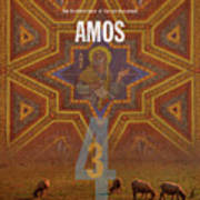 Amos Books Of The Bible Series Old Testament Minimal Poster Art Number 30 Poster