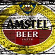 Amstel Beer Sign  Poster
