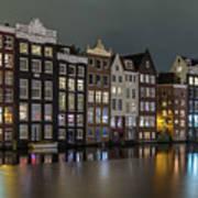 Amsterdam City Lights Poster