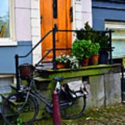 Amsterdam Door Poster