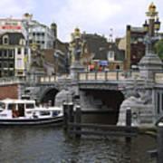 Amsterdam Scene Poster