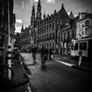 Amsterdam Street Poster