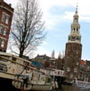 Amsterdam Waterviev Poster