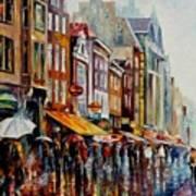 Amsterdam's Rain Poster