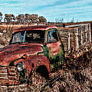 An Abandoned Truck Poster