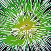 An Abstract Scene Of Sea Anemone 2 Poster