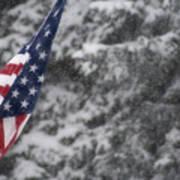 An American Winter Poster
