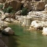 An Arabian Landscape Poster