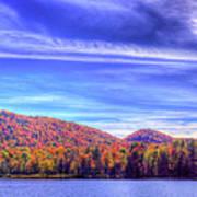 An Autumn Panorama Poster