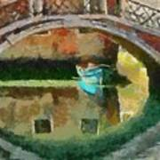 An Early Morning In Venice Poster