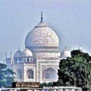 An Extraordinary View - The Taj Mahal Poster