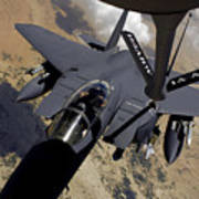 An F-15 Strike Eagle Prepares Poster by Stocktrek Images