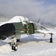 An F-4d Phantom II Aircraft Static Poster