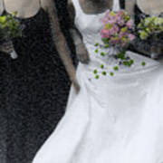 An Intimate Moment At The Wedding Poster