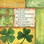 An Irish Blessing Poster