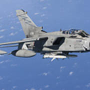 An Italian Air Force Tornado Ids Armed Poster