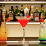 An Italian Drink Poster