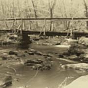 An Old Bridge Poster