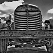 An Old International Truck Poster