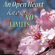 An Open Heart Knows No Limits Poster