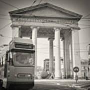 Analog Black And White Photography - Milan - Porta Ticinese Poster