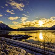 Anchorage Sunrise Poster