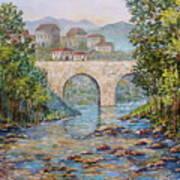 Ancient Bridge Poster