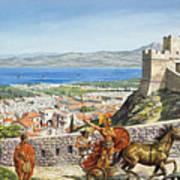 Ancient Corinth Poster
