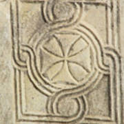 Ancient Cross Pattee Poster