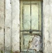 Ancient Doorway Rome Italy Pencil Poster