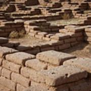 Ancient Pueblo Adobe Walls Poster