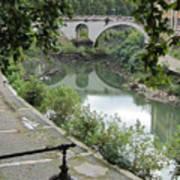 Ancient Roman Foot Bridge Poster
