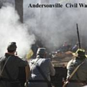 Andersonville Civil War Village Poster