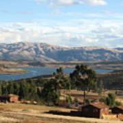 Andes Lake Poster