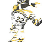 Andrew Mccutchen Pittsburgh Pirates Pixel Art 1 Poster