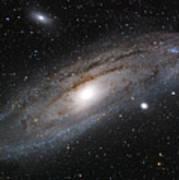 Andromeda Galaxy Lightened Poster