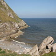 Angel Bay. Little Orme.  Poster