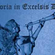 Angel Gloria In Excelsis Deo Poster