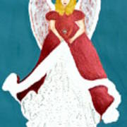 Angel In Red Poster