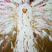 Angel Of Divine Healing Poster by Alma Yamazaki