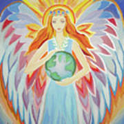 Angel Of Peace Poster