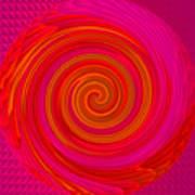 Angel-spiral Poster by Ramon Labusch