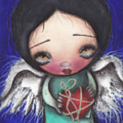 Angel With Heart Poster