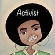 Angela Davis #2 Poster