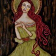 Angela Poster by Rain Ririn