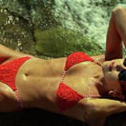 Angela Red Bikini-0721 Poster