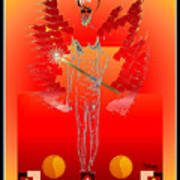 Angels - Archangel Sariel Poster