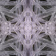 Angles In Ice On Monadnock - A4 Poster