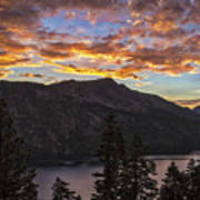 Angora Ridge Sunset 9 Poster